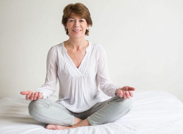 йога очень помогает при климаксе