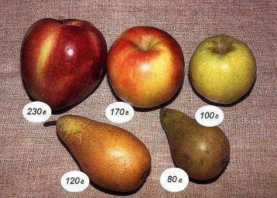 Сколько калорий в яблоке: зеленом, красном и голден в 100 граммах