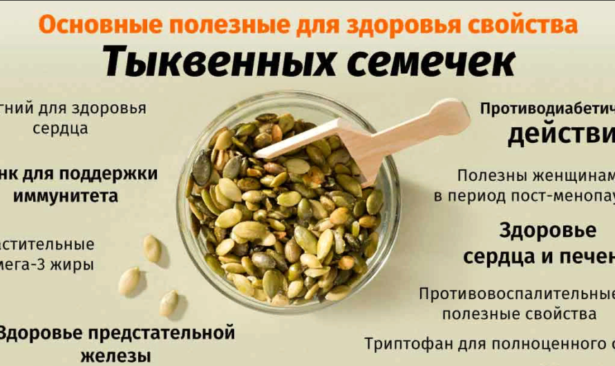 Тыквенные семечки: польза и вред для организма